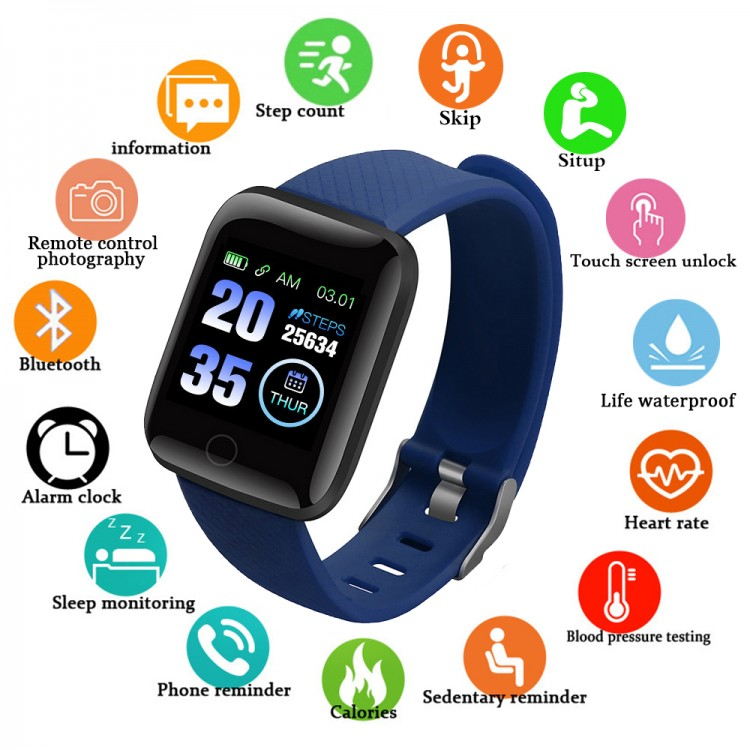 Смарт-часы Smart Watch 8 blue