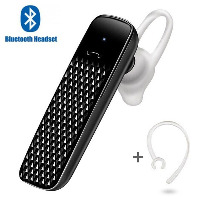 Гарнитура Bluetooth 9 black + Box
