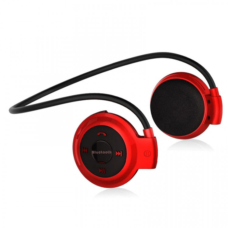 Наушники Air Music Bluetooth 29 red