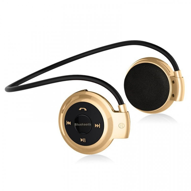 Наушники Air Music Bluetooth 29 gold