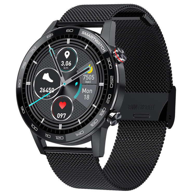 Смарт-часы Smart Watch 71 black steel