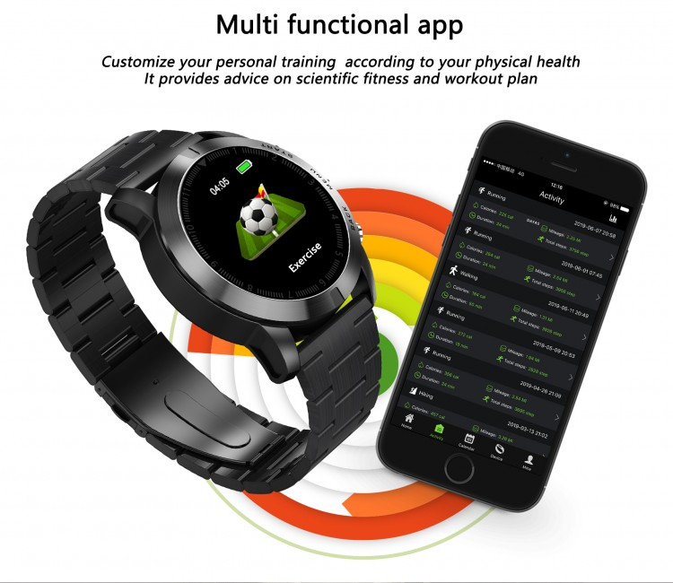 Смарт-часы Smart Watch 48 black -