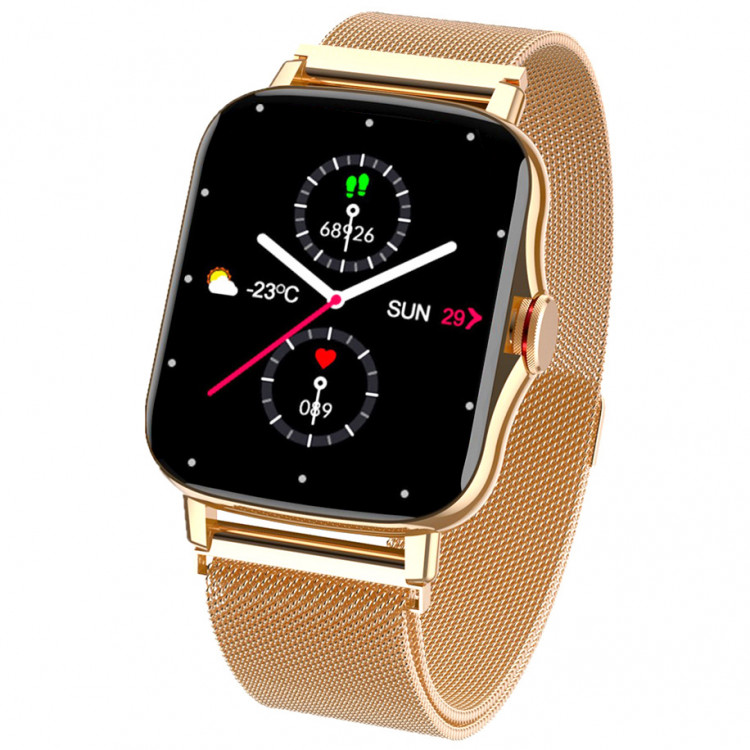 Смарт-часы Smart Watch 69 gold steel