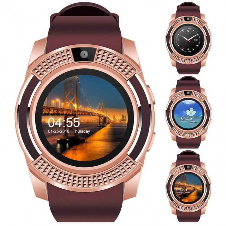 Смарт-часы Smart Watch 2 gold+brown