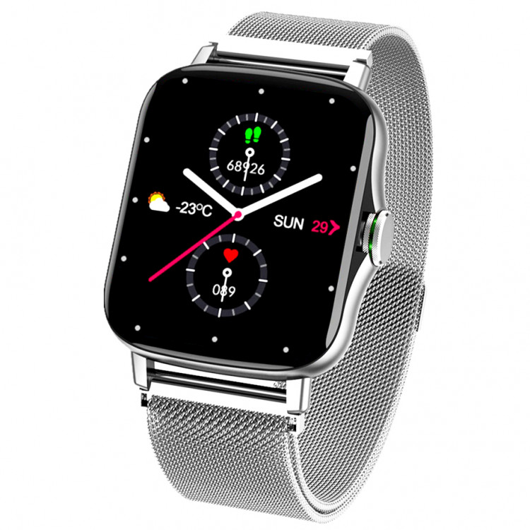 Смарт-часы Smart Watch 69 silver steel
