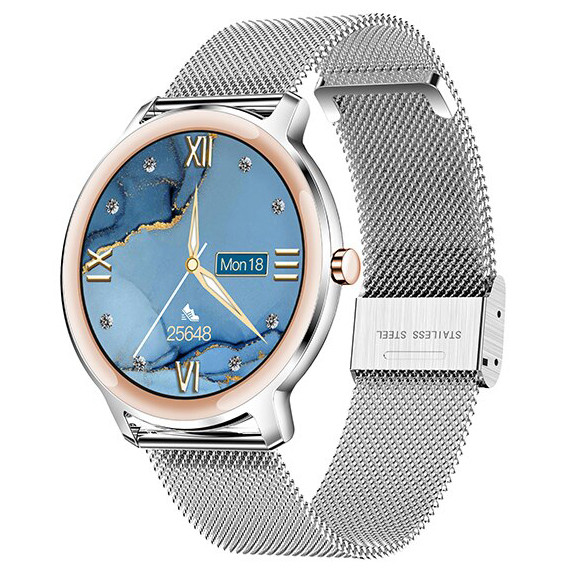 Смарт-часы Smart Watch 72 silver steel
