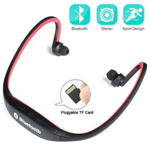 Наушники Air Music Bluetooth 30 black+red