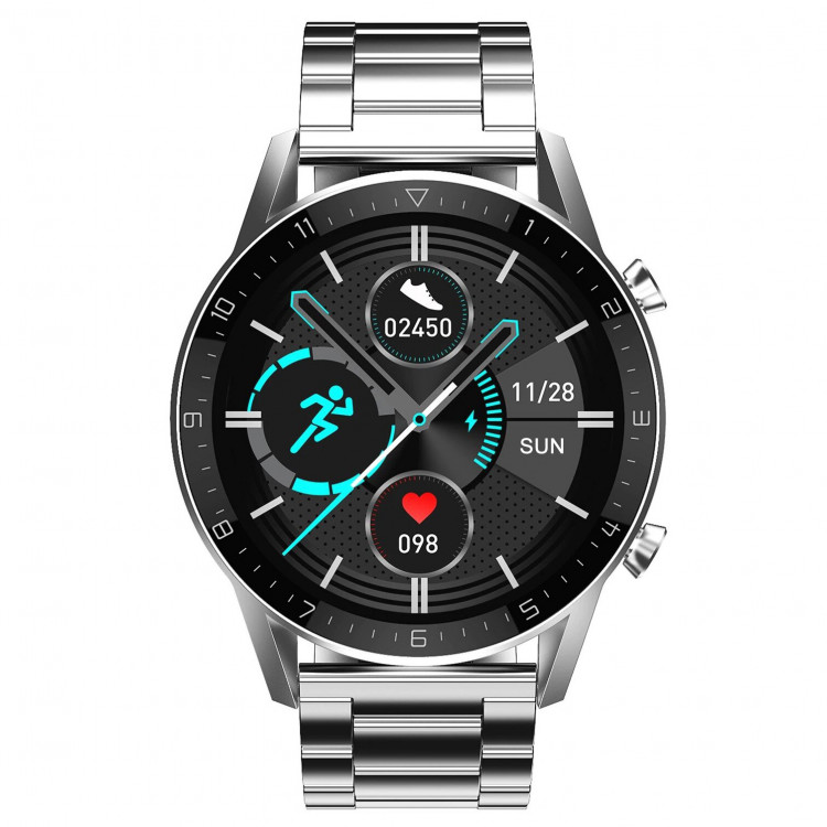 Смарт-часы Smart Watch 74 silver steel