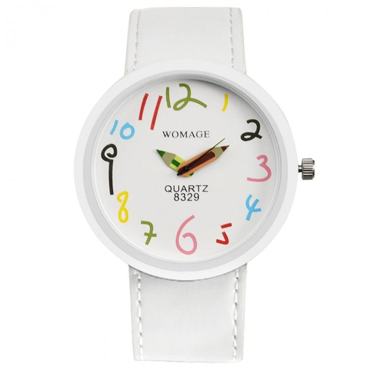 Часы Bershka Womage white