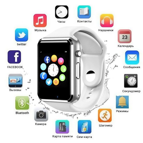 Смарт-часы Smart Watch 1 white