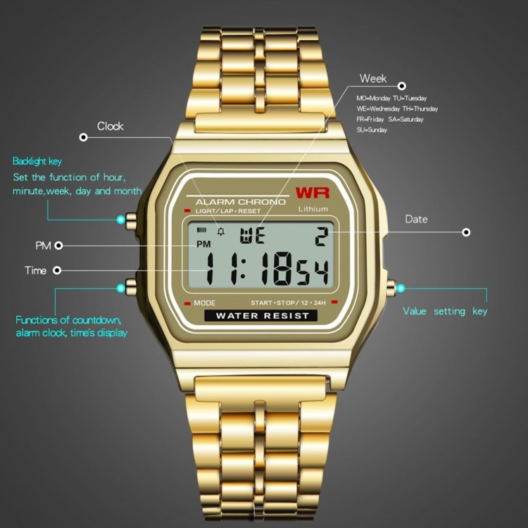 Часы Casio Protrek gold -
