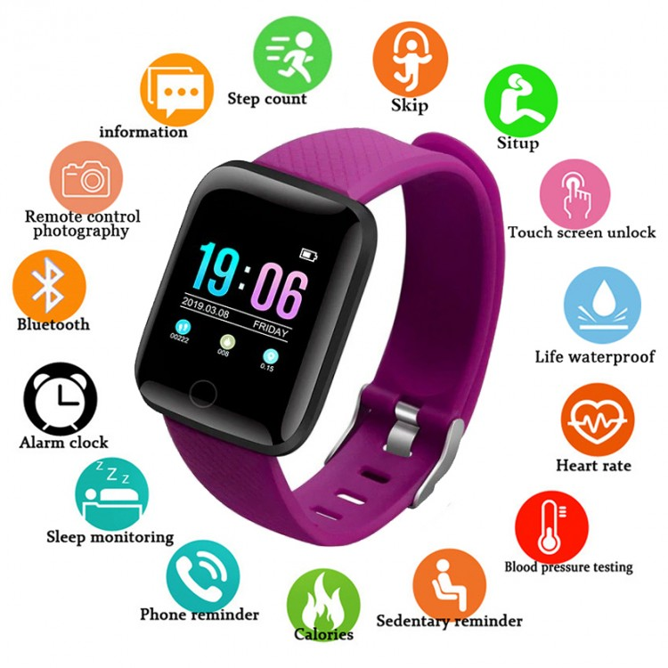 Смарт-часы Smart Watch 8 purple