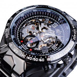 Мужские часы Mechanical Motivi black