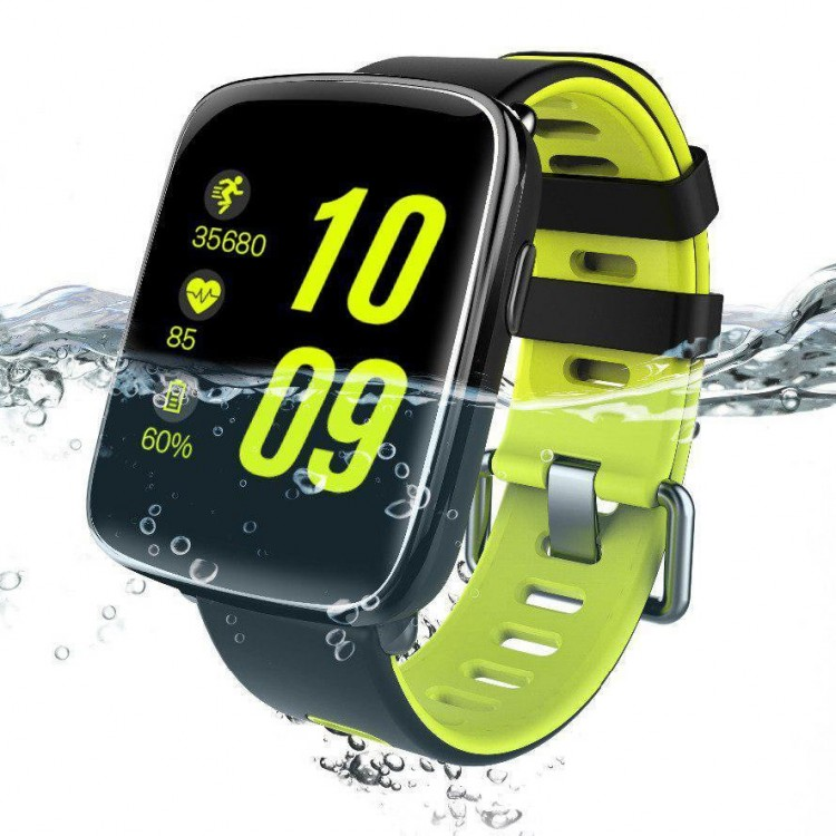 Смарт-часы Smart Watch 15 black+green