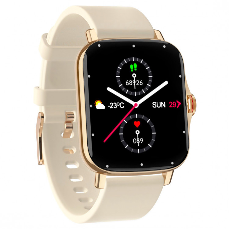 Смарт-часы Smart Watch 69 gold + powdery