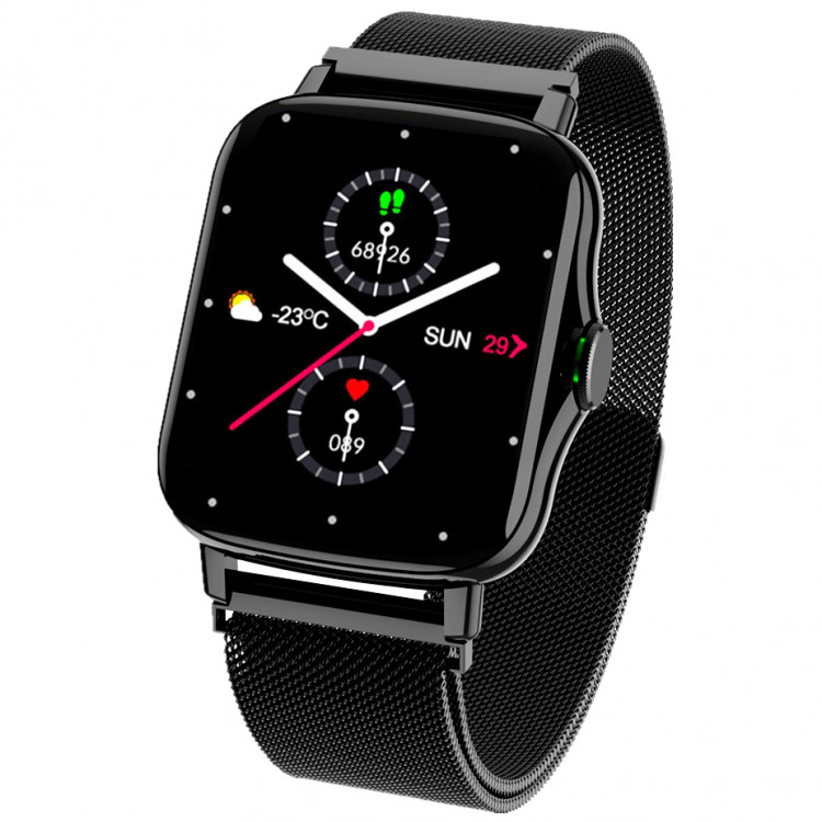 Смарт-часы Smart Watch 69 black steel